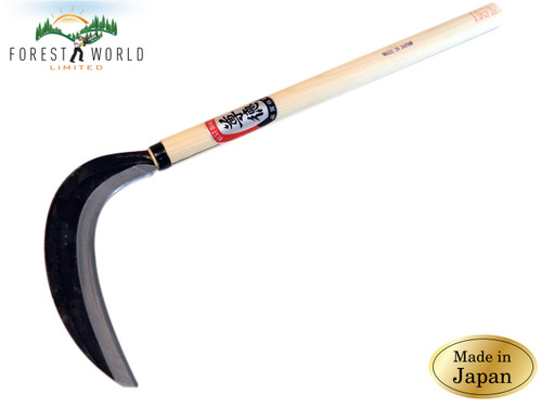 Japanese SONTOKU Professional Garden Grass Herbs Cutting Sickle,645 mm overall