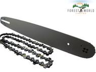 """15"""" Guide Bar & Chain For HUSQVARNA 55,E1400,E1600,E1800,EL16,136 325'' .050''"""