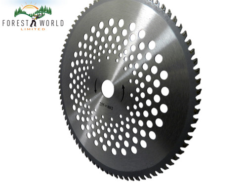 HIGH QUALITY 80 Teeth CARBIDE tipped Blade for Brush Cutter Multi Tools Strimmer