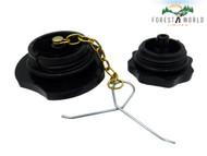 Fuel & oil caps for STIHL 070 090 chainsaws , 1106 630 3600 & 1107 350 0500