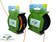 TOP quality Strimmer bump feed cutting heads x 2 STIHL FS 80,FS 70,FS 55,FS 44