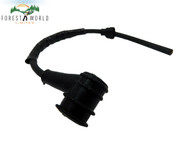 Stihl chainsaw replacement ignition HT lead wire plug cap boot & spring,215 mm