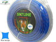 SIAT Professional Silent Strimmer line cord,3,3 mm,BLUE VERTIGO,MADE IN ITALY