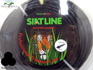 SIAT Professional TWISTED SILENT Strimmer line,3,3 mm,BLACK STORM,MADE IN ITALY