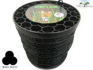 SIAT Professional SILENT TWISTED Strimmer line,2,4 mm,1 KG ROLL,MADE IN ITALY