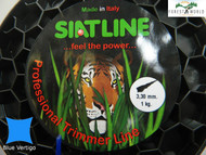 SIAT Professional Silent Strimmer line cord,3,3 mm,1 KG ROLL ,MADE IN ITALY