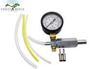 CHAINSAW STRIMMER CARBURETOR PRESSURE GAUGE KIT, LEAK DETECTOR