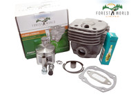 Cylinder kit,50 mm for HUSQVARNA 365 372 371 362,by FOREST WORLD,503 93 9372
