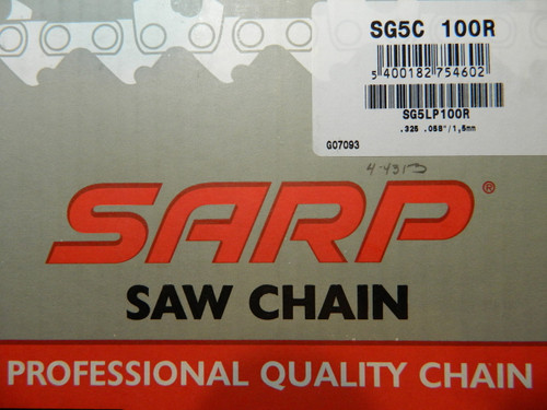 Quality Sarp chain,made by Blount in Canada(the same Oregon),designed for professional use.