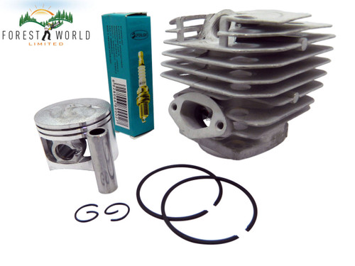 Chinese 4500 chainsaw cylinder & piston kit,43 mm,to fit Taurus,Timbertech