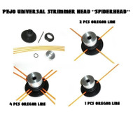 PEJO universal straight shaft strimmer cutting head