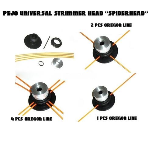 PEJO universal straight shaft strimmer cutting head