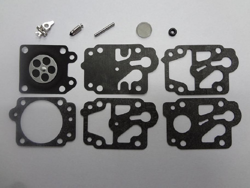 Walbro K10-WYB Carburetor Repair Rebuild Overhaul Kit,Honda Gx25 GX35,Kawasaki