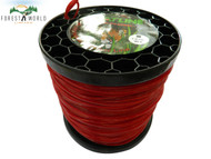 SIAT Heavy Duty Professional ALU Strimmer line wire,2,4 mm,SQUARE