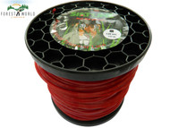 SIAT Heavy Duty Professional ALU Strimmer line wire ,1 kg roll,3 mm,SQUARE
