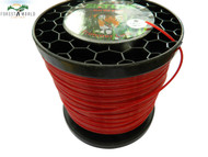 SIAT Heavy Duty Professional ALU Strimmer line wire,1 kg roll,2,4 mm,ROUND