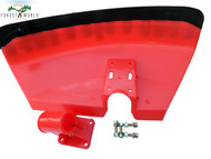 Universal guard reflector shield to fit varius brush cutter strimmer trimmer