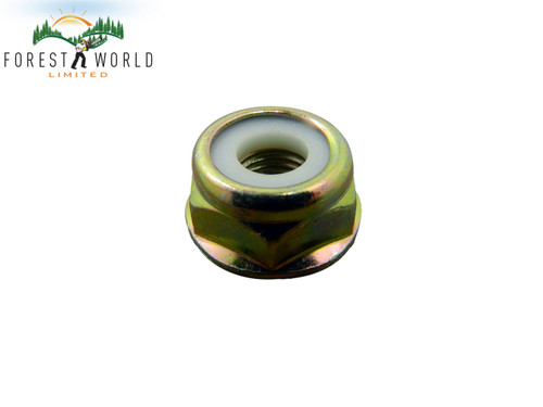 Blade nut to fit varius brush cutter strimmer trimmer,size M10 X 1.25 LH