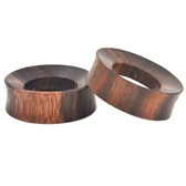 Organic Sono Wood Thick Rim Tunnels (25mm-50mm)