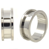 Classic Steel Screw Fit Tunnels Plugs (28mm-51mm)