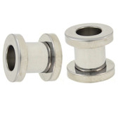 7mm (1G) Stainless Steel Screw Fit Tunnels