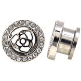 "Rose Center Clear Paved Rim Tunnels (4g-5/8"")"
