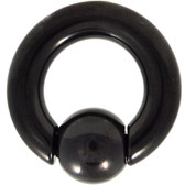 Blackline IP Steel Spring Action Captive Bead Ring