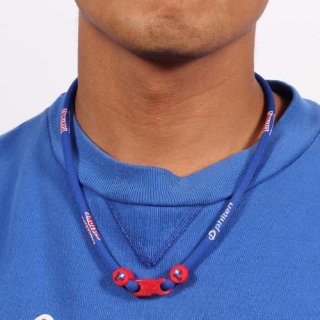 Detroit Pistons NBA Titanium Necklace