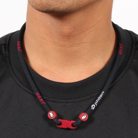 Miami Heat NBA Titanium Necklace