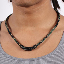 Digital Camo Titanium Necklace