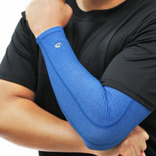 Heather Titanium Compression Arm Sleeve