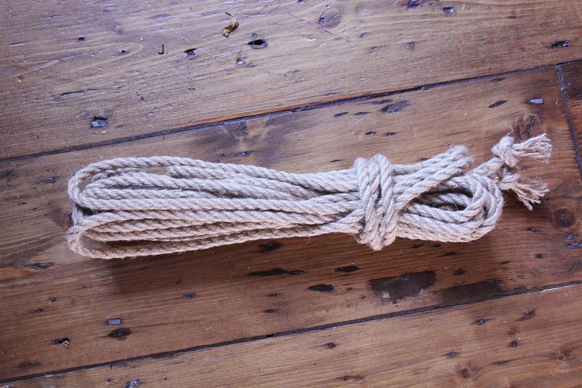 Okinawa jute shibari rope