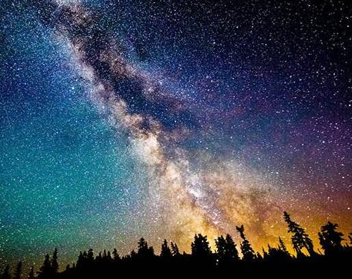 Show the most beautiful starry sky1