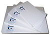 "8.5"" x 11"" - MaxBlack Premium Waterproof Inkjet Film"