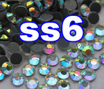 Rhinestones | SS06/2.0mm | CrystalAB(Clear) | 25 Gross