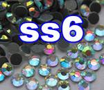 Rhinestones | SS06/2.0mm | CrystalAB(Clear) | 100 Gross