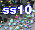 Rhinestones | SS10/2.8mm | CrystalAB(Clear) | 100 Gross