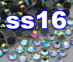 Rhinestones | SS16/4.0mm | CrystalAB(Clear) | 25 Gross