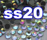 Rhinestones | SS20/5.0mm | CrystalAB(Clear) | 25 Gross