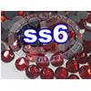 Rhinestones | SS06/2.0mm | Siam | 25 Gross