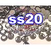 Rhinestones | SS20/5.0mm | Black Diamond | 25 Gross