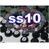 Rhinestones | SS10/2.8mm | Black Jet | 05 Gross