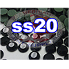 Rhinestones | SS20/5.0mm | Black Jet | 25 Gross