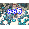 Rhinestones | SS06/2.0mm | Blue Zircon | 05 Gross