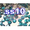 Rhinestones | SS10/2.8mm | Blue Zircon | 25 Gross