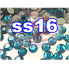 Rhinestones | SS16/4.0mm | Blue Zircon | 25 Gross