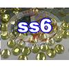 Rhinestones   SS06/2.0mm   Citrine   05 Gross