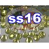 Rhinestones | SS16/4.0mm | Hotfix Rhinestone/Citrine | 10 Gross