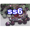 Rhinestones | SS06/2.0mm | Dark Amethyst | 05 Gross