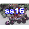 Rhinestones | SS16/4.0mm | Dark Amethyst | 25 Gross